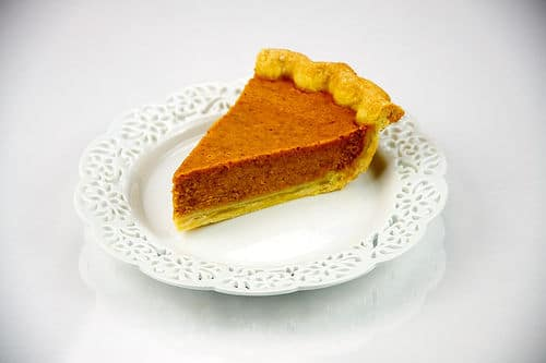 Une part de pumpkin pie