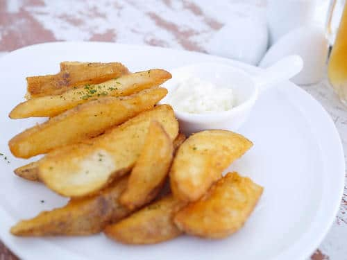 Des country potatoes