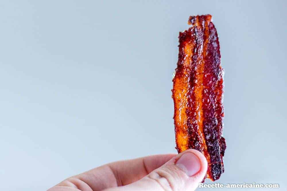 Candy bacon en transparence